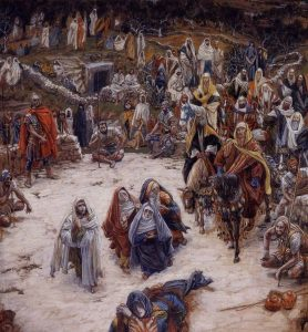 The View from the Cross by James Tissot